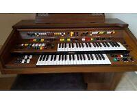 Yamaha Electone C605 Electric Organ with Stool