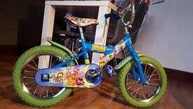 Moshi Monster Unisex Bike Aged 3- 8
