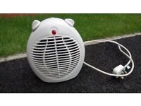 Fan Heater Tesco Free Standing 1800-2000w White Colour