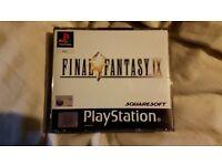 Final fantasy 9, really good condition