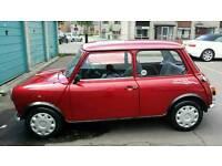 Rare mini auto 20.000 miles 1 year mot good condition