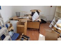 ***4 OFFICE DESKS & 3 OFFICE CHAIRS FOR SALE NEXT TO ALDGATE EAST STATION***