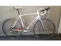 Specialized Allez Sport Triple 56Cm Road Bike White - Red