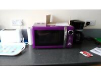 Purple microwave