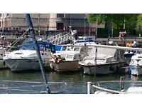 Boat Colvic Traveller 28' - Sea, River, Bristol Harbour - Project