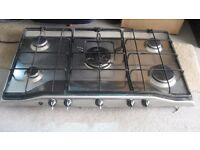 ZANUSSI 5 RING GAS HOB (Currently suitable for LPG)