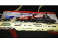 Hornby city industrial train set.