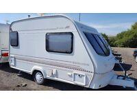 Elddis GT Whirlwind Twin BerthTouring Caravan 1999