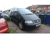 2008 VW SHARAN 1.9 TDI, AUTO, BREAKING ALL PARTS AVAILABLE