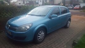 Astra automatic 1.8L Metallic blue. 9 month MOT.Power Steering. ABS brakes. Sport Mode