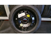 BMW Space Saver Spare Wheel 16 + tyre T 115 90 R 16