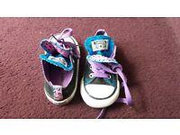 infant size 6 bundle converse ugg