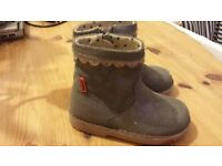 little girls boots size 7