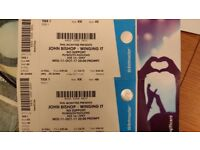 2x John Bishop Tickets - Plymouth Pavillion - 11th October