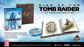 Rise of the tomb raider 20th anniversary edition playstation 4