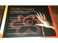 Dualta Airbrush System Nail Art and Tanning System.