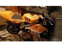 50cc mini moto quad pitbike