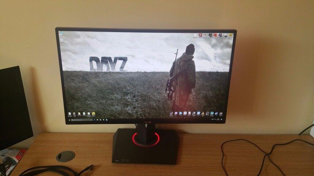ASUS ROG Swift PG278Q Gaming Monitor - 27'', 2560 x 1440,1ms, 144Hz, G-Sync