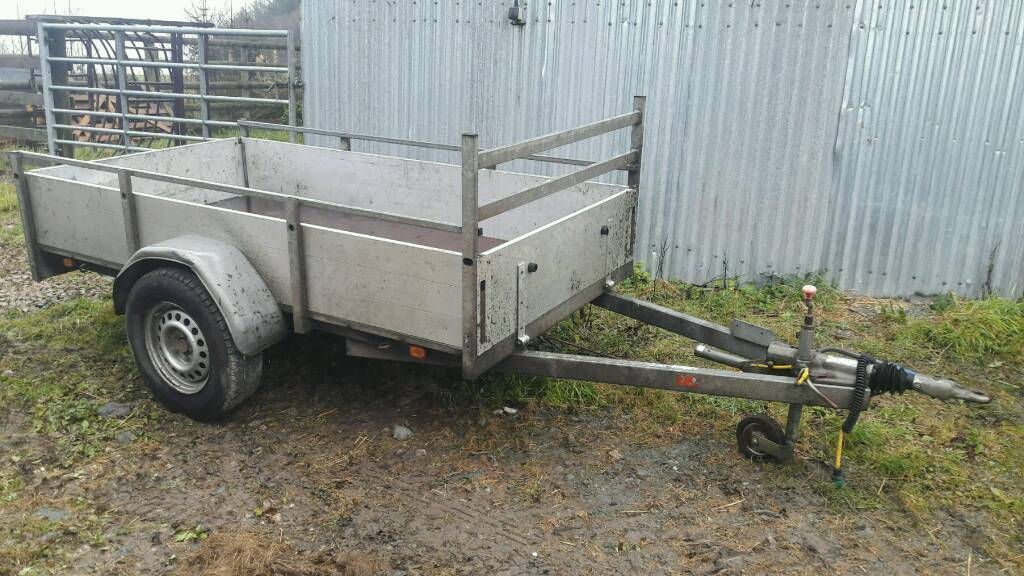 Ifor Williams Graham Edwards 8x4 trailer