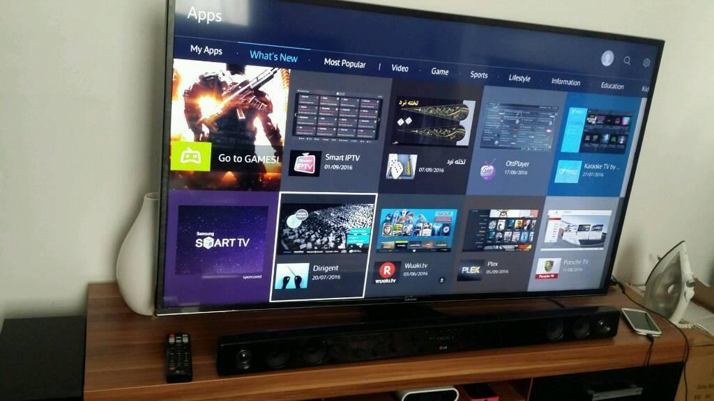 50 inch samsung 4k tv uhd smart with built in wifi not lg. Black Bedroom Furniture Sets. Home Design Ideas