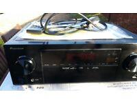 Pioneer VSX-329-K Home Cinema 5.1 Audio 3D 4k AV Receiver Amplifier HDMI USB