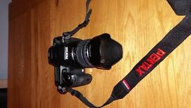 Pentax K5 digital camera and accessories this is a very sturdy and strong piece of kit