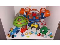 OCTONAUTS TOYS - VARIOUS WILL SELL TOGETHER OR SEPARATELY. AS NEW!