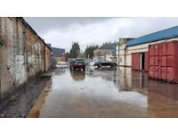Land ideal for car van storage & sales, builders yard & merchants - c.8000 sqft - prime location