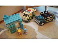 Sylvanian. Happyland. Fisher price