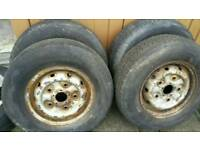 Mrk5 transit wheels and brand new tyres