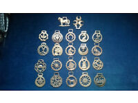 Vintage Collection of Horse Brasses / Brass