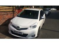Toyota Yaris 1.3 White 5 door
