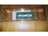 Laptop Samsung 4GB DDR4-2400MHz Ram (um Stick) (M471A5244CBO-CRC)