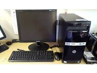 """Office Computer - HP 500B MT With 19"""" Screen Ready To Go Office PC with Software and OS + Support"""