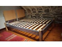 Double bed frame excellent