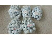 Various bags of Golf Balls