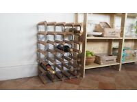 Large Wine Rack , Excellent Quality 24.5 x 16.5