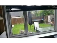 White UPVC window 180 x 120