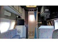 Reduced! LWB Transit Camper 2.5 Diesel, TV, Shower, Large Awning, MOT