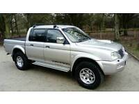 MITSUBISHI WARRIOR 4X4 DOUBLE CAB WITH ROLL TOP BACK