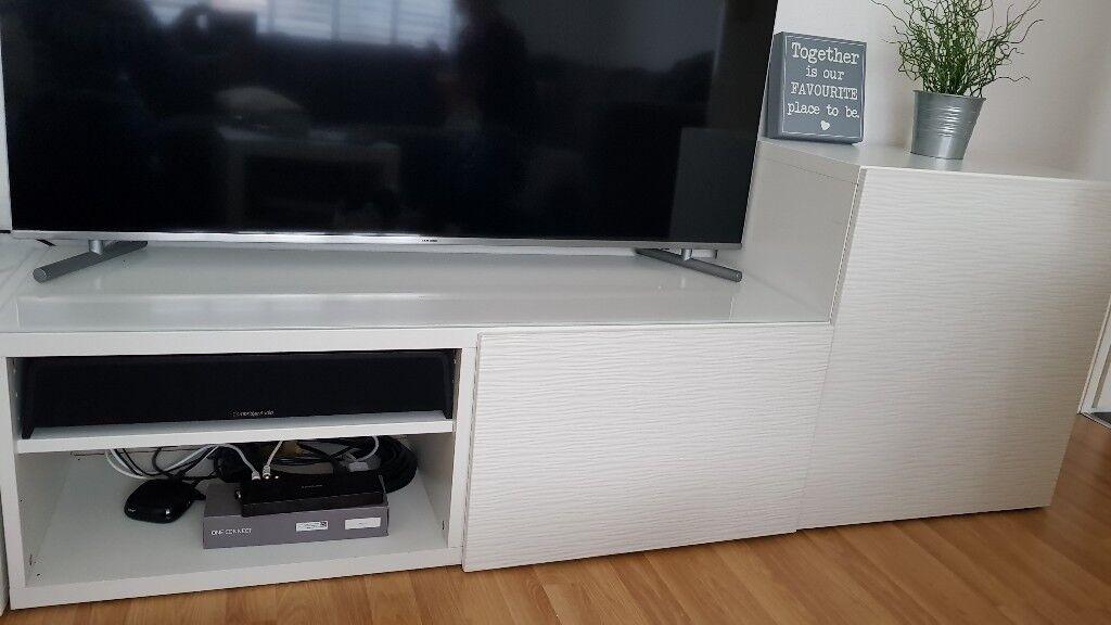 ikea laxviken besta tv unit 65 in weymouth dorset gumtree. Black Bedroom Furniture Sets. Home Design Ideas