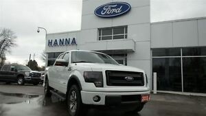 2013 Ford F-150 SUPERCREW FX4*LEATHER*4X4 3.5L ECO V6 *6 1/2ft.B