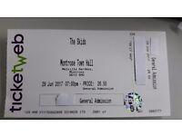 Skids Concert Ticket-Montrose 29th June