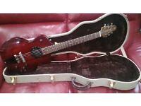 Rick Turner Model M1-CP-LB (Lindsey Buckingham) Solid Body Guitar.