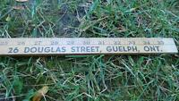 antique pioneer funiture 26 douglas St guelph soild wood ruler