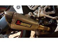 Akrapovic Titanium slip-on Yamaha R6