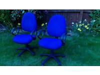 New office chairs and second hand desks large quantity. 40X