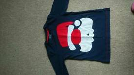 Next santa top age 3-4 years worn only twice