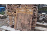 Reclaimed Redland Double Roman Tiles 200+ FREE