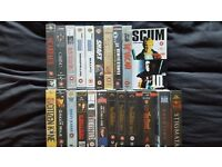 24 Classic Films Collection(VHS) Godfather, Goodfellas, Casino, Enter the Dragon, Scum, McVicar ++++
